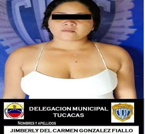 Capturada una mujer en Tucacas - Capturada una mujer en Tucacas