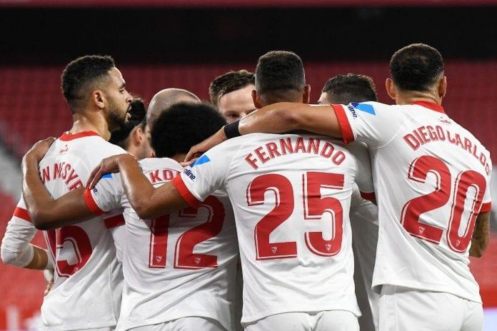 Sevilla tomó ventaja sobre el Barcelona copa del rey