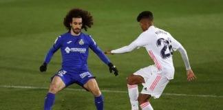 Real Madrid requirió de seis minutos getafe