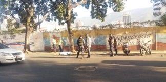 Mujer arrollada en avenida Lecuna