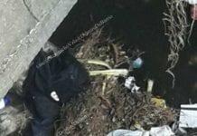 Hallan a recién nacido debajo de un puente