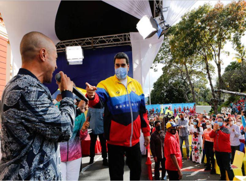 Juventud chavista marchó en Caracas - 2