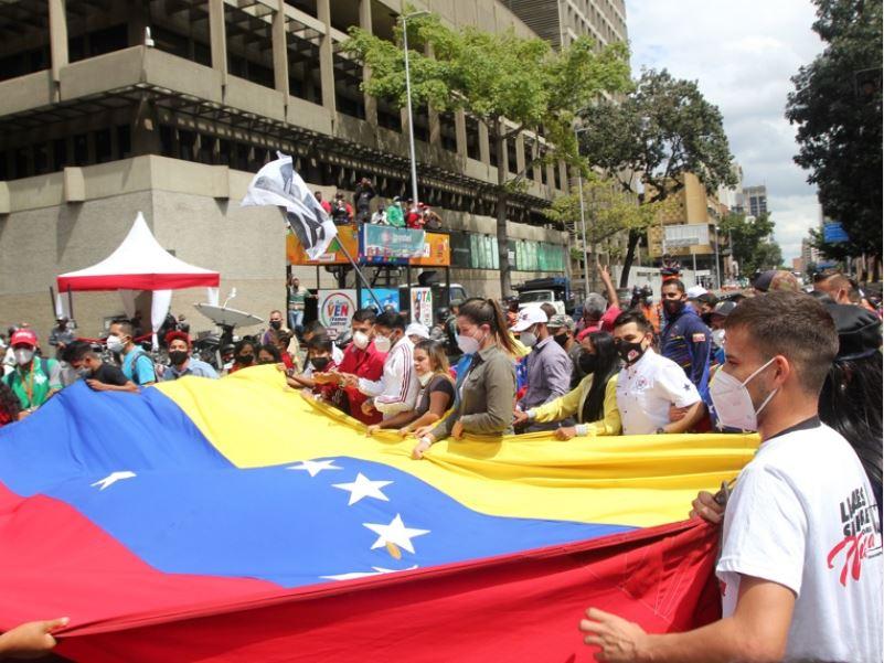 Juventud chavista marchó en Caracas - 3