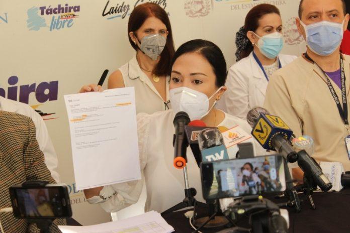 Laidy Gómez denunció