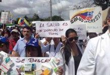 Trabajadores salud convocan a marcha - Trabajadores salud convocan a marcha