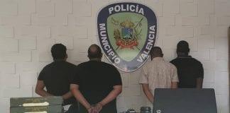 Detienen a cuatro hombres que cargaban explosivos