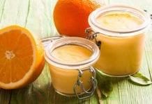 Postre cremoso de naranja - Postre cremoso de naranja