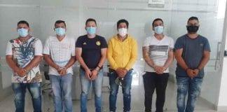 """Seis integrantes de """"Los Rastrojos"""" capturados - Seis integrantes de """"Los Rastrojos"""" capturados"""