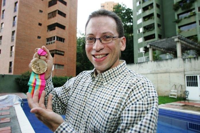 Nadador venezolano Rafael Vidal - Nadador venezolano Rafael Vidal