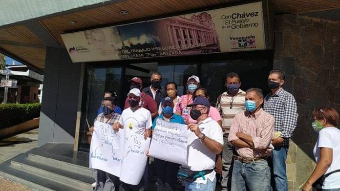Enfermeros de Carabobo exigen mejores salarios