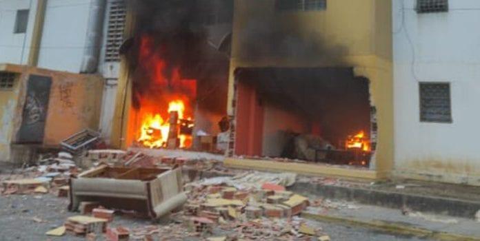 Explotó una bombona de gas en Barquisimeto - Explotó una bombona de gas en Barquisimeto