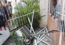 Explosión de una bombona en Maracay - Explosión de una bombona en Maracay