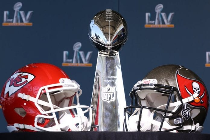 Buccareers se enfrentan a los Chiefs super bowl LV