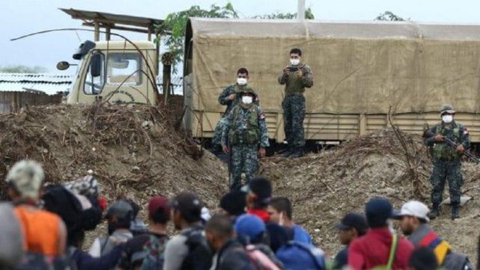 Chile militariza frontera migrantes venezolanos - Chile militariza frontera migrantes venezolanos