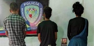 Detenidas tres persona por hurto de comercios
