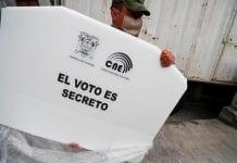 Andrés Arauz comanda las elecciones en ecuador