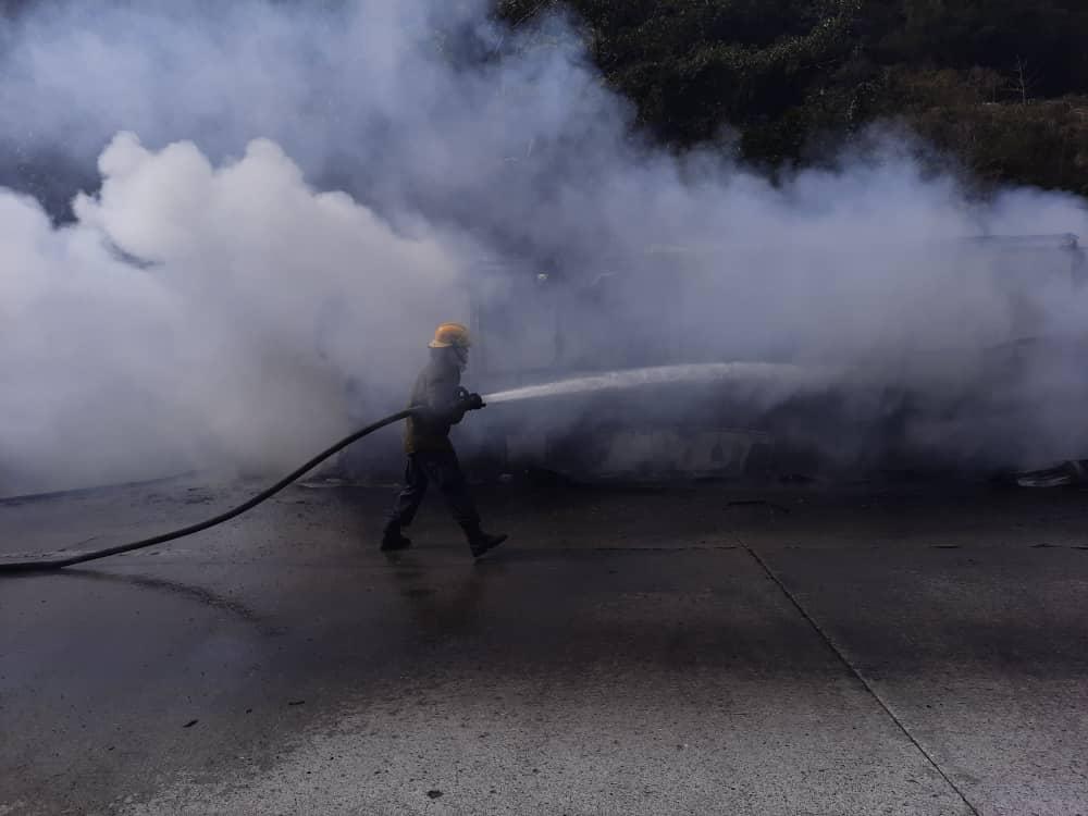 incendio de un Encava - incendio de un Encava