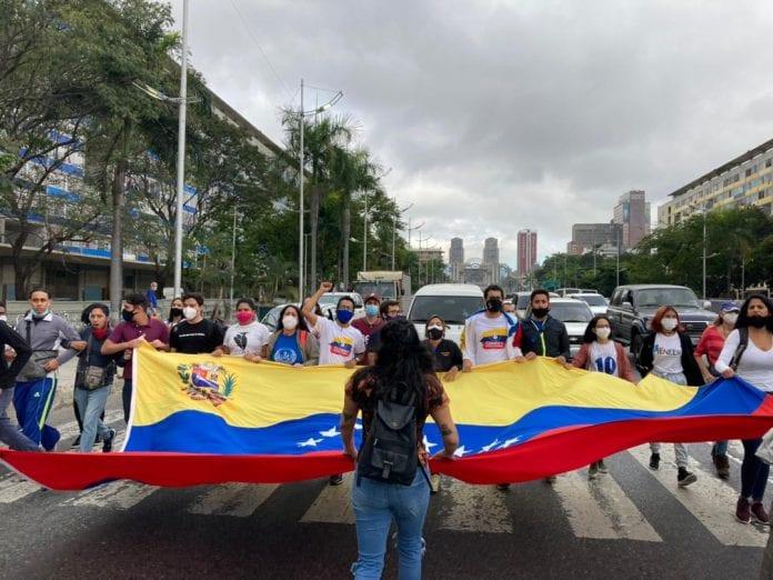 estudiantes protestaron recordaron Bassil Da Costa - estudiantes protestaron recordaron Bassil Da Costa