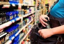 mujer hurtaba en supermercado en Naguanagua