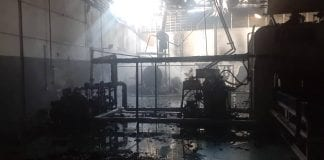 Incendio en empresa Innova de Valencia - Incendio en empresa Innova de Valencia