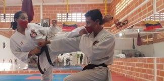 atletas carabobeños karen y Ricardo Flores Aguilar