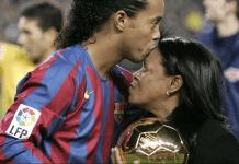 Falleció la mamá de Ronaldinho