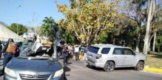 Choque en la redoma de Guaparo – choque en la Redoma de Guaparo