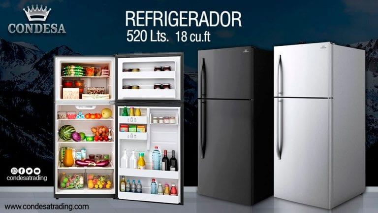 El nuevo refrigerador Condesa de 520Lt para mejorar la conservación de tus alimentos