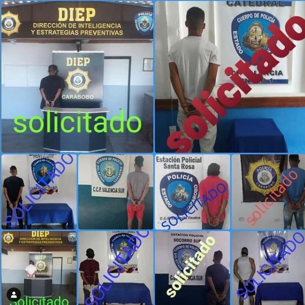 Solicitados por las autoridades - Solicitados por las autoridades
