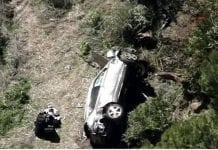 Tiger Woods accidente - Tiger Woods accidente