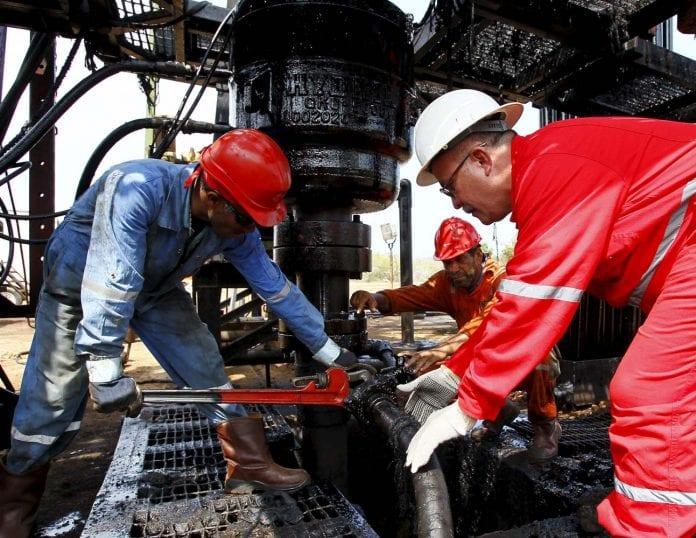 Salario de trabajadores petroleros