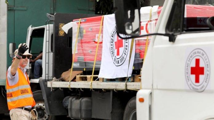 Cruz Roja Venezolana recibió insumos