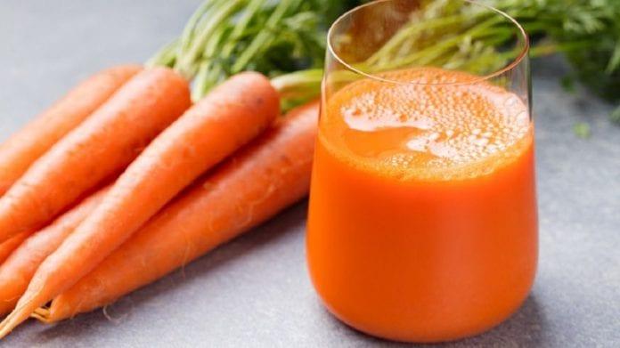 Tomar sumo de zanahoria - Tomar sumo de zanahoria