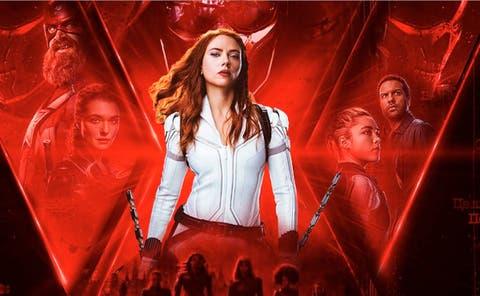 Black Widow en cines y Disney Plus
