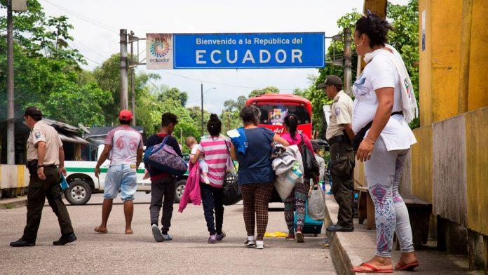Venezolanos en Ecuador