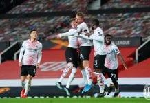 Milan sacó un empate al Manchester United europa league
