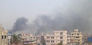 Represión de militares en Birmania