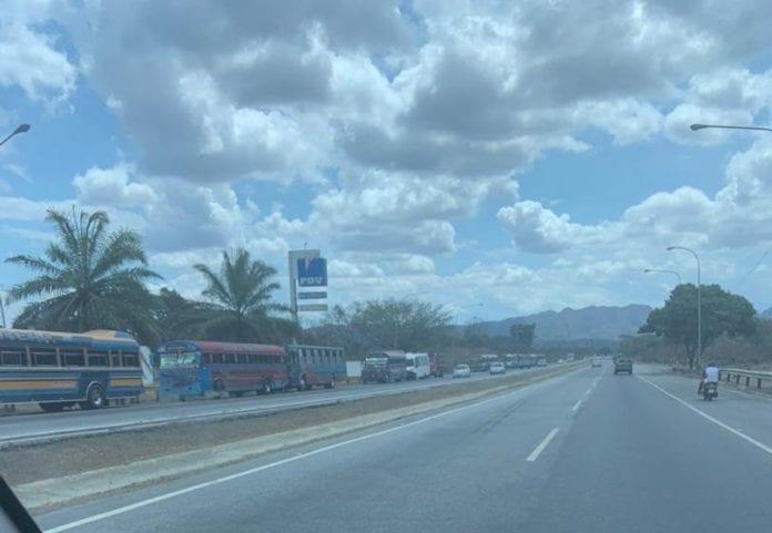 falta de gasoil en Carabobo - falta de gasoil en Carabobo