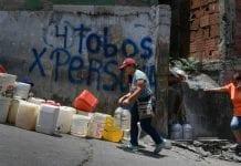 25% de los venezolanos reciben agua potable