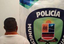 Detenido sujeto en Guacara