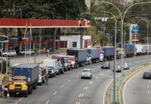 Racionamiento de diesel en Venezuela