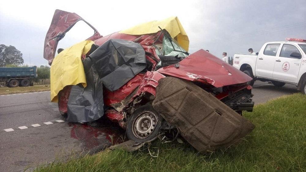 Accidente de tránsito en Argentina - Accidente de tránsito en Argentina