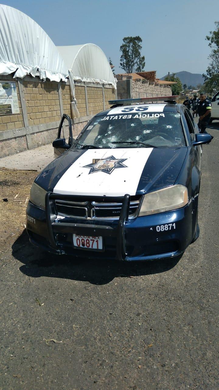 Ataque a la policía de México - Ataque a la policía de México