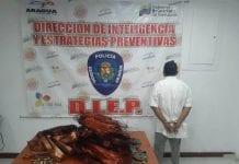 banda dedicada al hurto en UCV-Maracay