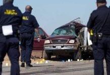 Accidente en la frontera de Estados Unidos - Accidente en la frontera de Estados Unidos