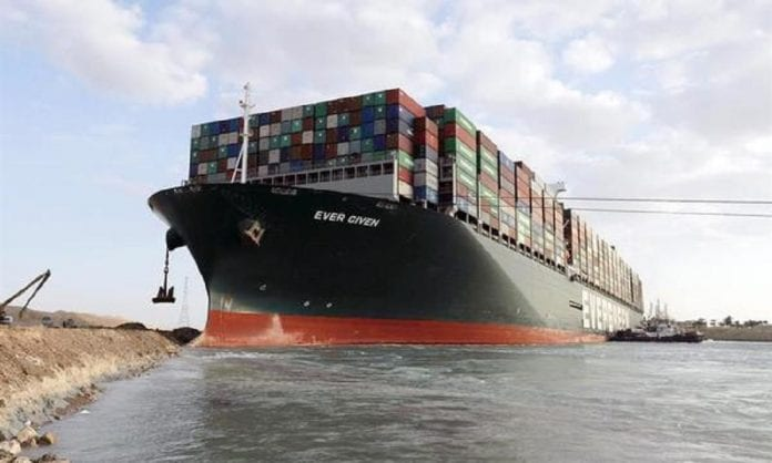 Buque EverGiven reflotado Canal de Suez - Buque EverGiven reflotado Canal de Suez