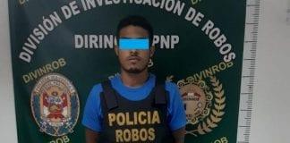 Venezolano que atracó en Lima - Venezolano que atracó en Lima