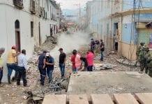 Explosión de un carro bomba en Cauca