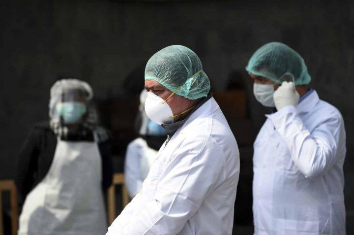 siete nuevos profesionales la de salud fallecieron de Covid-19