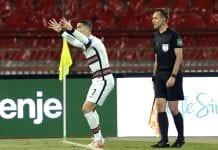 gol anulado a Portugal cristiano ronaldo